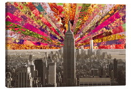 Canvas print  BLOOMING NEW YORK - Bianca Green