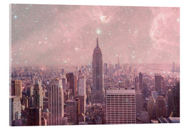 Acrylic print  Stardust Covering NYC - Bianca Green