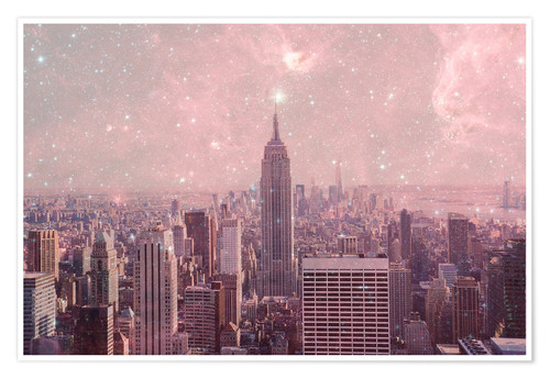 Premium poster Stardust Covering NYC