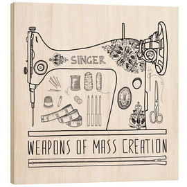 Bianca Green - Weapons Of Mass Creation - Sewing