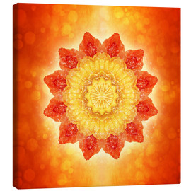 Canvas print  Mandala - I AM powerful - Dolphins DreamDesign