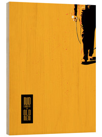 Wood print  No country for old men - Fourteenlab