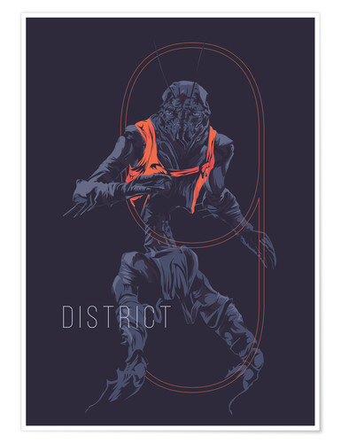 Premium poster district9