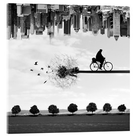 Acrylic print  Dream ride - Buko