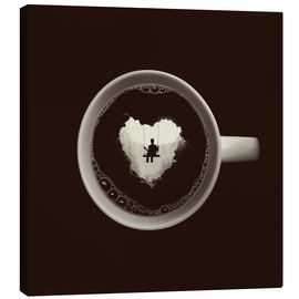 Canvas print  A heart for coffee - Buko