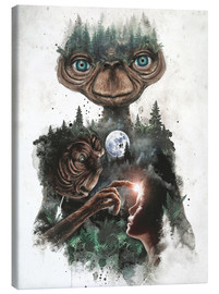 Canvas print  E.T. the extra terrestrial - Barrett Biggers