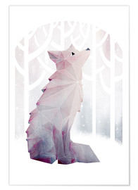 Poster Fox In The Snow