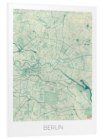 Forex  Berlin Map Blue - Hubert Roguski
