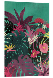 Acrylic print  Tropical tendencies - littleclyde
