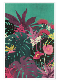 Premium poster Tropical tendencies