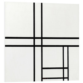 Forex  Composition in White, Black, and Red - Piet Mondrian