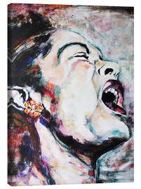 Canvas  Billie Holiday, I`m a Fool to Want You - Christel Roelandt