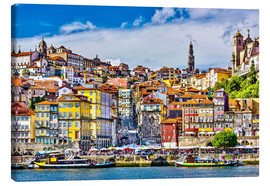 Canvas print  Old Porto - Jörg Gamroth