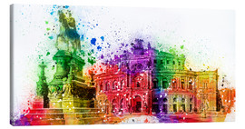Canvas print  The Semper Opera House in Dresden - Peter Roder