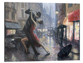Alu-Dibond  Life is a Dance in The Rain II - Adrian Borda