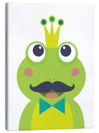 Canvas print  Frog with mustache - Jaysanstudio