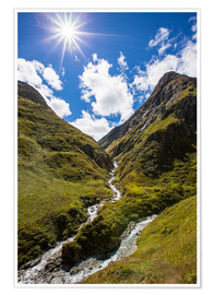Premium poster Hohe Tauern National Park