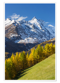 Premium poster  Grossglockner High Alpine Road - Rainer Mirau