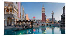 Aluminium print  The Venetian Hotel on South Las Vegas Boulevard - Rainer Mirau