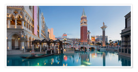 Premium poster The Venetian Hotel on South Las Vegas Boulevard