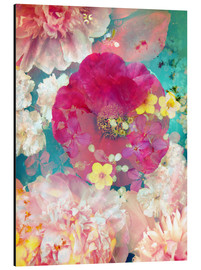 Aluminium print  Colorful flowers in the water - Alaya Gadeh