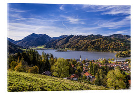 Acrylic print  Bavarian Pre-Alps, municipality of Schliersee - Udo Siebig