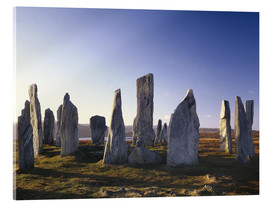 Acrylic print  Rock of Callanish - Thonig