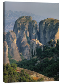 Canvas print  Roussanou Monastery in Thessaly, Greece - Thonig