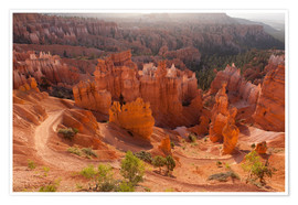 Poster  Bryce Canyon National Park, Vereinigte Staaten, Thors Hammer - Catharina Lux