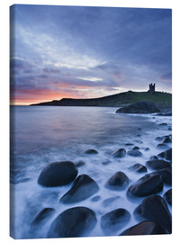 Canvas  Dunstanburgh Castle, Northumberland - Rainer Mirau