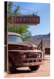 Acrylic glass  Rusted Ford, Wild West - Catharina Lux