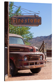 Aluminium print  Rusted Ford, Wild West - Catharina Lux