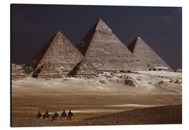 Alu-Dibond  Pyramids of Giza, Middle East - Catharina Lux