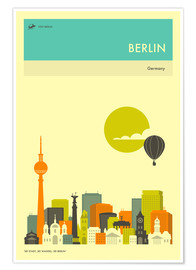 Premium poster BERLIN TRAVEL POSTER