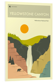 Forex  YELLOWSTONE NATIONAL PARK POSTER - Jazzberry Blue
