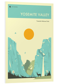 Jazzberry Blue - YOSEMITE NATIONAL PARK POSTER