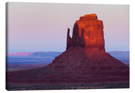 Canvas  Monument Valley at sunset - Rainer Mirau