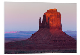 Rainer Mirau - Monument Valley at sunset