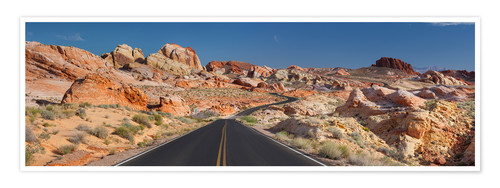 Premium poster Valley of Fire State Park