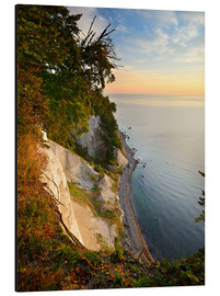 Aluminium print  Chalk cliffs in the morning light - Andreas Vitting