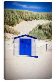 Canvas print  Bathhouse on Texel - Beate Margraf