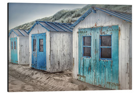 Aluminium print  On the West Frisian island of Texel - Beate Margraf