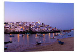 Foam board print  Fishing village Ferragudo in the Algarve in the south of Portugal - Chris Seba