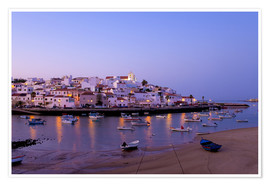 Premium poster  Fishing village Ferragudo in the Algarve in the south of Portugal - Chris Seba