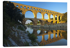 Canvas print  Pont du Gard, Avignon, southern France - Chris Seba