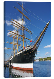 Canvas print  Museum ship 'Passat' - Chris Seba