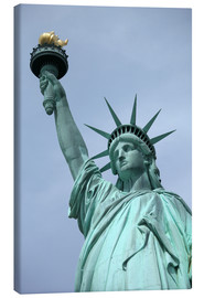 Canvas print  Statue of Liberty in the portrait - Catharina Lux