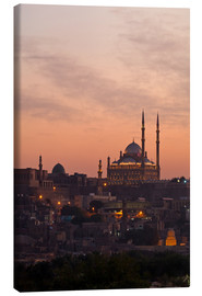 Canvas print  Citadel and Mohamad Ali Mosque, Cairo - Catharina Lux
