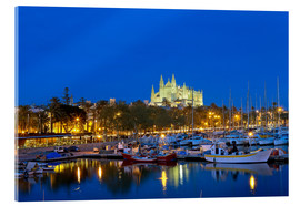 Acrylic print  Capital Palma on Mallorca - Chris Seba