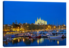 Canvas print  Capital Palma on Mallorca - Chris Seba